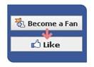 Facebook beğen butonu