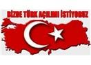 Türk açılımı istiyorum!...