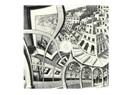 Escher'in 'Resim Galerisi' isimli eseri bize neleri söylüyor, neleri imâ ediyor ve neleri gizliyor?