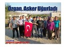 Başkan Özgan, Asker Uğurladı