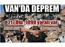 Depremin sorumlusu Türklerdir
