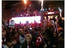 Cadde'de geleneksel Cumhuriyet yürüyüşü!