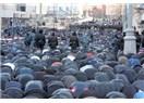 Soğuk Moskovada sıcak bayram günü