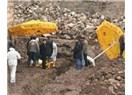 Diyarbakır İç Kale kazıları ve insan kemikleri...
