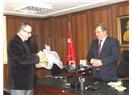 Mersin'in Mezitli İlçe Kaymakamı Kıcıroğlu'dan, MESKİ Genel Müdürü Ülgen'e ziyaret