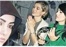 Rabia Kazan türbanı attı, istanbul gecelerine aktı
