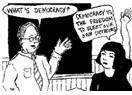 Benim adım; demokrasi
