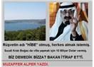 Suudi Kralına para karşılığı imar izni verilmiş.