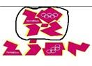 """Londra Olimpiyatları logosunda """"zion"""" yazıyor"""