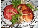 Ayışığı'ndan diyet yemekleri; Közlenmiş patlıcan yatağında somon ızgara