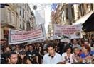 Hayvan hakları için insanlık yürüyüşündeydim...