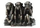 Üç maymun!