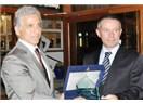 Türkiye Amatör Spor Kulüpleri Konfederasyonu'ndan Çelikbilek'e takdir plaketi