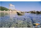 Antalya ilinin doğusuna kapsayan Likya ve Kilikya antik kentleri arasında kalan bölge Pamfilya'dır.