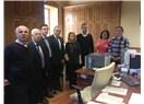 Büro Memur-Sen Samsun şube yönetim kurulu bölge idari mahkemesi üyelerini ziyaret etti