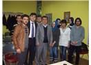 Cumhuriyet Üniversitesi Öğrencilerinin sorularını cevaplarken...