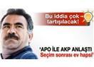 Bu bahar memlekete barış gelecek; adres Öcalan...