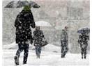 İstanbul, kar, kış, bugün de düşmedim anne...