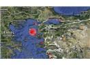 Ege Bozcaada açıklarında  6.2 şiddetinde deprem sonrası 5.şiddetinde deprem...