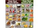 Sümük silen ve sümük yapan besinler neler?