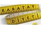 Karatay diyeti birinci ay raporu