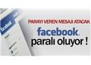 Facebook'tan mesajlaşmak 1 Dolar