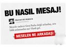 Mehmet Ali Alabora'nın meselesi  Gezi Parkı değilse ne?