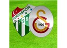 Bursaspor: 1 - Galatasaray : 1. Bu bir kader mi, yoksa