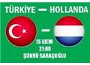 Türkiye : 0 - Hollanda : 2 .  Biz futbol oynamasını biliyor muyuz?