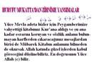 Kur'an da sadece Harf olarak Vahyedilen Ayetlere farklı bir bakış