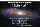 Evrenin en basit Yasası: İste - Al