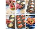Muffin kabında mini pizza
