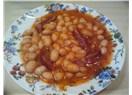 Kuru fasulye (Tavuk suyu ve kurutulmuş domates ile)