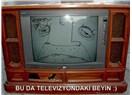 Siyah beyaz TV izlemekten sıkıldım!
