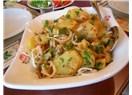 Kahvaltıda patates salatası