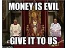 Hıristiyanlıkta paranın önemi ve tasarruf anlayışı