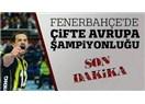 Fenerbahçe kadın ve erkek voleybol takımları Avrupa şampiyonu...