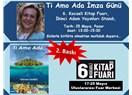 Ti Amo Ada 6. Kocaeli Kitap Fuarı'nda okurlarıyla buluşuyor