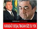 Nursultan Nazarbayev'den Ermenistan'a ayar