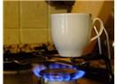 Fincanda kahve pişirme