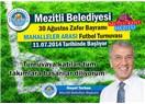 Mersin Mezitli Belediyesi, mahalleler arası Futbol Turnuvası başlıyor.