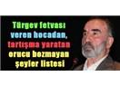 """Orucu bozmayan eylemler konusunda yeni """"fetva"""" yayınlandı..!"""