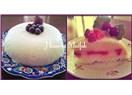 Ramazan'ın Gülü Çilekli Güllaç Pastası