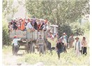 Römorkte insan taşıma ölüme davetiyedir.