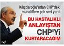 CHP kurultayı istiklal ve istikbal mücadelesi verenlerin kurultayı olacak!