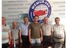 İstanbul 7 nolu şube başkanından, Samsun Büro Memur-Sen'e ziyaret