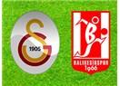 Galatasaray fena yenildi. Balıkesir:2-Galatasaray:0