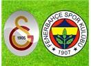 Fenerbahçe'yi Sneijder yıktı. Galatasaray :2- Fenerbahçe: 1