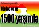 Kürt dilbilimcilere göre Kürtçe kaç yaşında?