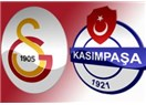 Sabri onbirde. Galatasaray kazandı : GS : 2 - Kasımpaşa :1